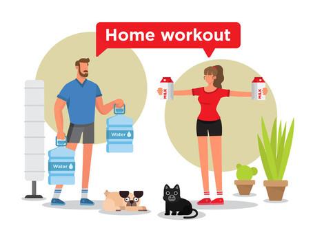 Hoe combineer je thuiswerken en bewegen?