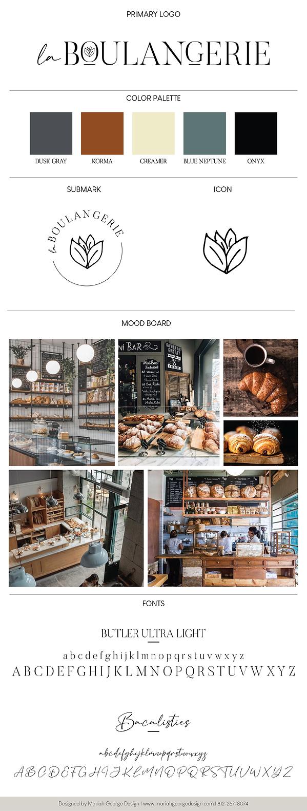 La Boulangerie Branding
