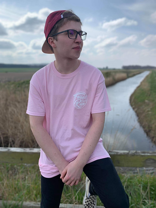 Forrest Can't Run Pink T-shirt