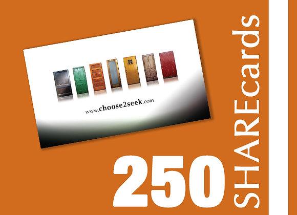 250 Cards (Tarjetas)