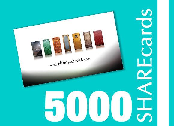 5000 Cards (Tarjetas)