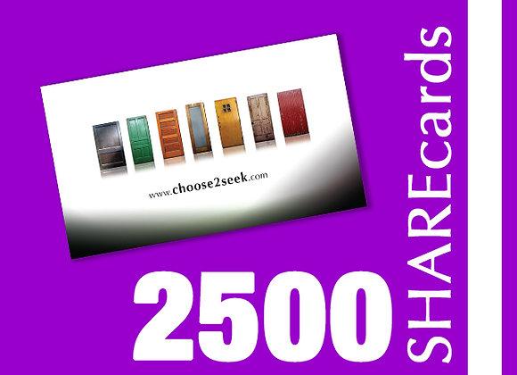2500 Cards (Tarjetas)