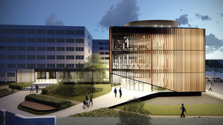 Budapest Business School Library Extension
