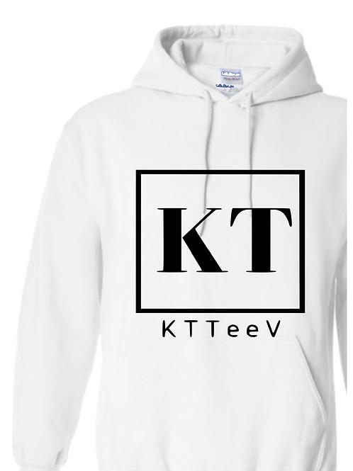 Black KTTeeV Logo Hoodie