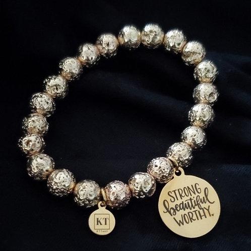 KTTeeV Gold Worthy Bracelet