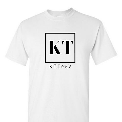Black KTTeeV Logo | Colored Tee