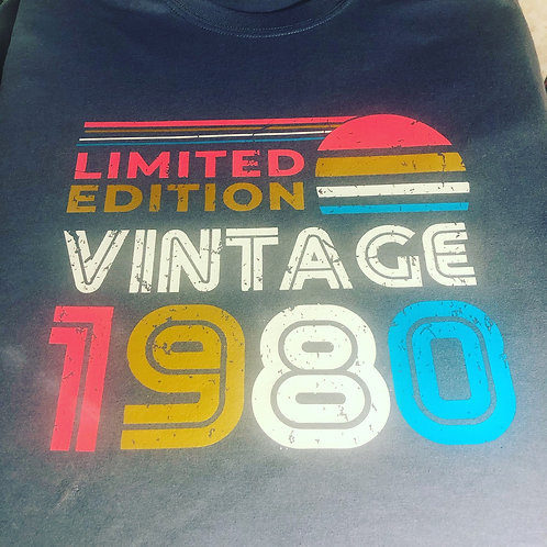 Limited Edition Vintage