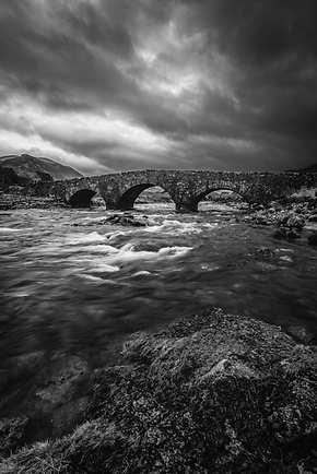 Vieux pont de Sligachan - Skye