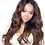 Thumbnail: Ashante Full Lace Wig (100% Remy Human Hair)