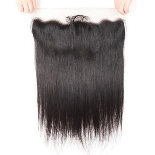 Silky Straight Lace frontal (100% Remy Human Hair)