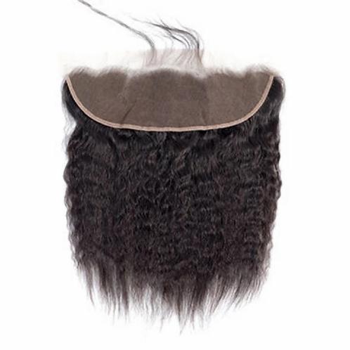 Italian Yaki Lace frontal (100% Remy Human Hair)
