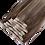 Thumbnail: Highlighted Natual Brown Human Hair Clip-ins