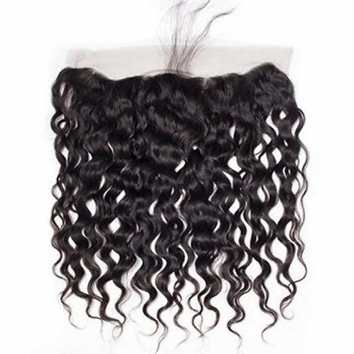 Water Wave Lace frontal (100% Remy Human Hair)