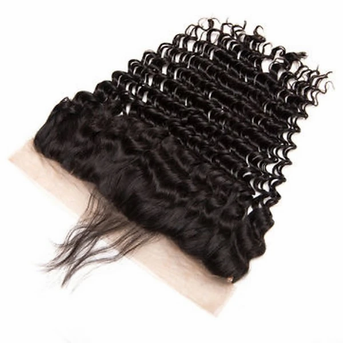 Deep Wave Lace frontal (100% Remy Human Hair)
