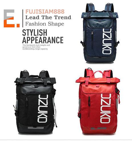 OZUKO กระเป๋าเป้สะพายหลัง แล็ปท็อป 15 นิ้วได้