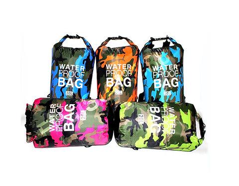 ถุงกันน้ำ กระเป๋ากันน้ำ เมื่อเข้าป่า หรือลอยกลางทะเล ขนาด 10L และ 20L