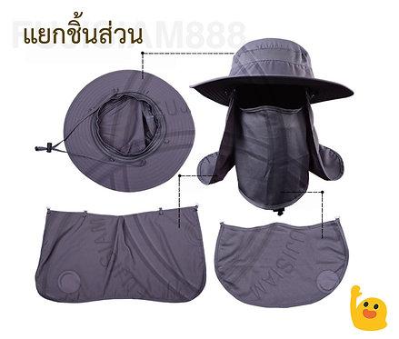 หมวกบังแดด นุ่ม สบาย ระบายอากาศดี๊ดี (มี 3 สี)