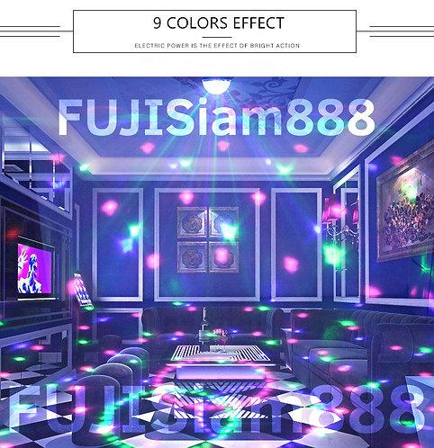 ไฟเธค ไฟดิสโก้ หมุนติ้ว MP3 Disco Light Dome