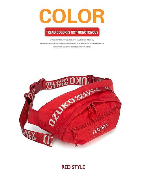 OZUKO กระเป๋าคาดหน้าอก คาดเอว   มี 3 สี