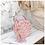 Thumbnail: KINFLOK กระเป๋าแฟชั่นเกาหลี (2 สี) ทรงกลม ลายดอกไม้ ถือได้ สะพายดี