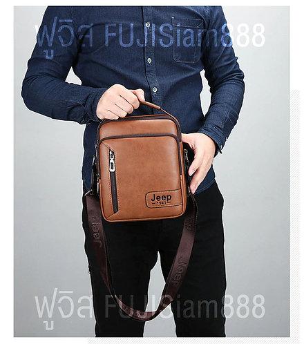 JEEP กระเป๋าหนัง (กลาง) กระเป๋าจีพ กระเป๋าจี๊ด