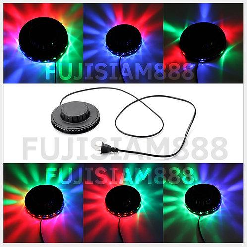 ไฟยูเอฟโอ UFO ไฟจานบิน ไฟหมุน LED หลากสี RGB อัตโนมัติ