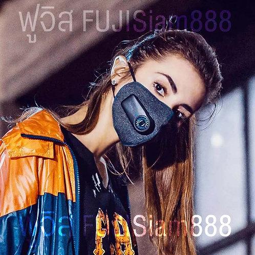XIAOMI Purely Mask หน้ากากพัดลม ป้องกันฝุ่นละอองในอากาศ PM2.5