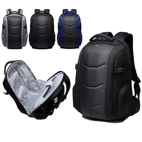 OZUKO กระเป๋าสะพายขนาดกลาง โน๊ตบุ๊ค 15.6 นิ้ว กันน้ำ หล่อ ทันสมัย