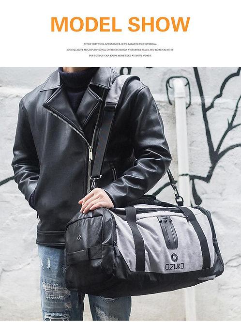 OZUKO กระเป๋ากันน้ำ อเนกประสงค์ มี 4 สี โน๊ตบุค 15.6 นิ้วได้
