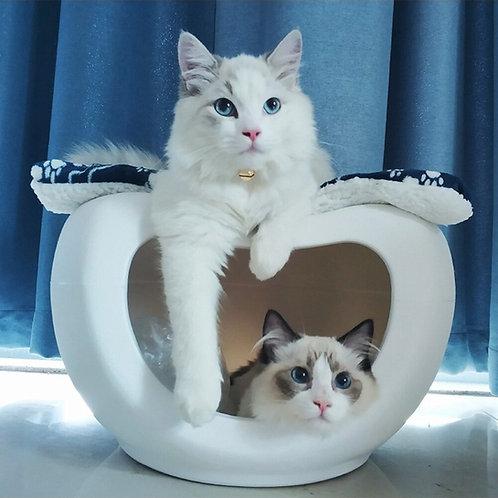 pet house บ้านแมว บ้านสัตว์เลี้ยง โมเดิร์น ทรงเสี้ยวพระจันทร์