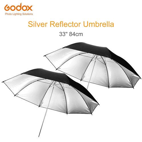 Godox ร่มสะท้อนเงินร่มสะท้อน ร่มสตูดิโอ 84 cm และ 101 cm