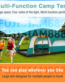 Giant Tent Big Tent 6 - 9 Person Gazebo Tent Outdoor Tent Windproof Sunproof and Rainproof