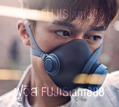 Woobi Plus F95 หน้ากาก N95 4 ชั้นกรอง ป้องกันมลพิษในอากาศ (ผู้ใหญ่)