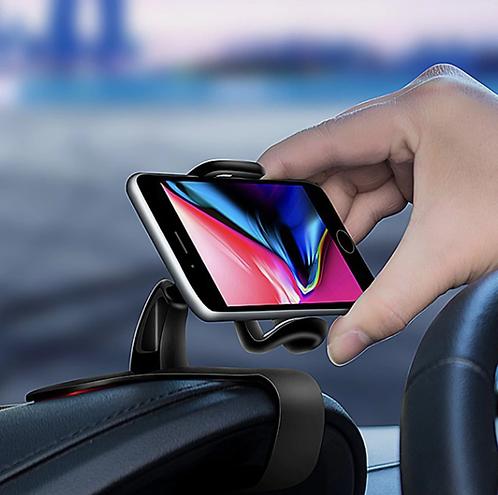 ที่วางโทรศัพท์ในรถยนต์ แบบยึดแผงคอนโซล ติดตั้งง่าย  ไม่ทิ้งร่องรอย