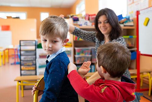 Massage à l'école Hauts de France Dunkerque