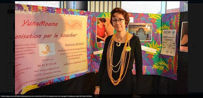 Patricia Hugoo YunaMoana Massages Dunkerque