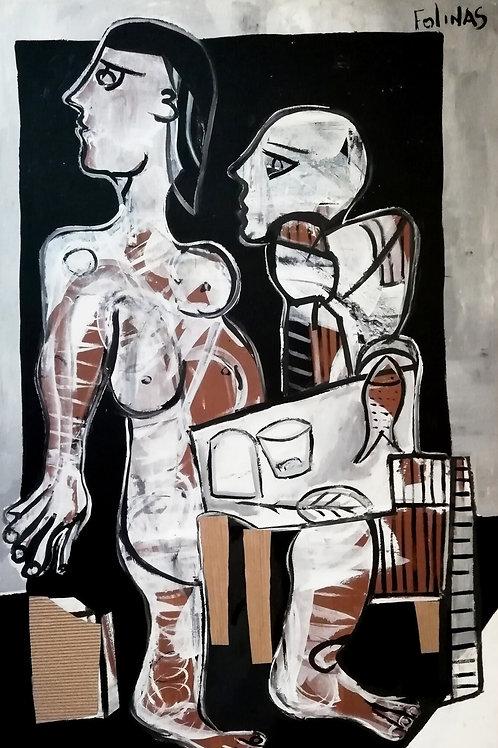 Stefanos Folinas   Original Painting