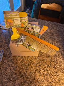 honey harvest supplies.JPEG