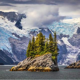Anchor & Ogive Glaciers