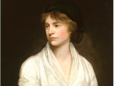 THE WEEKLY MUSE - Mary Woolstonecraft: English writer and philosopher