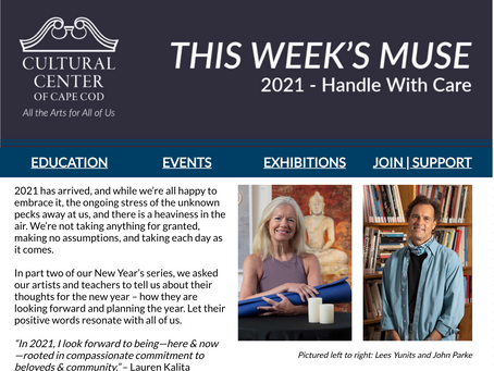 THE WEEKLY MUSE - 2021 Handle With Care