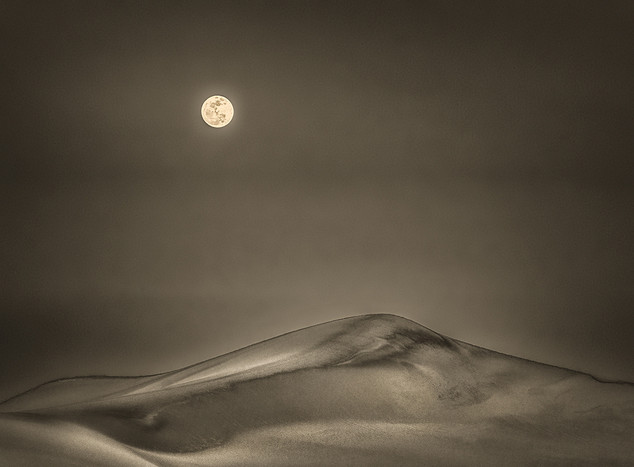 Moonrise at Death Valley-9325