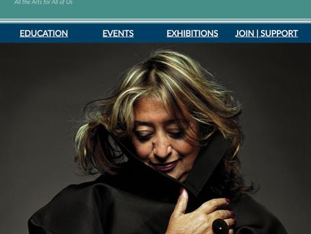 THE WEEKLY MUSE - Zaha Hadid: Iraqi-British Architect