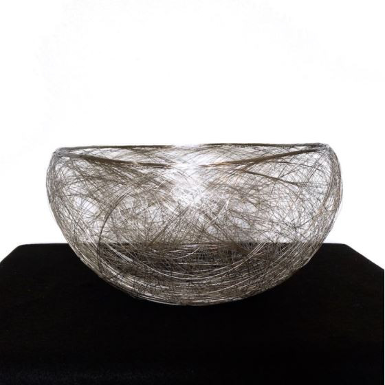 """""""Silver Bowl with Return #1"""""""