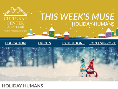 THE WEEKLY MUSE- Holiday Humans