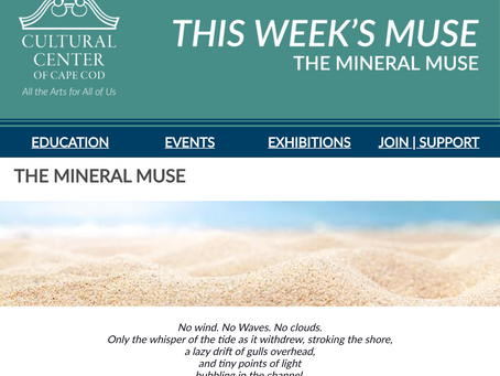 THE WEEKLY MUSE - The Mineral Muse