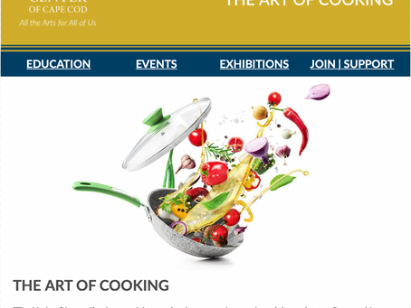 THE WEEKLY MUSE - The Art of Cooking