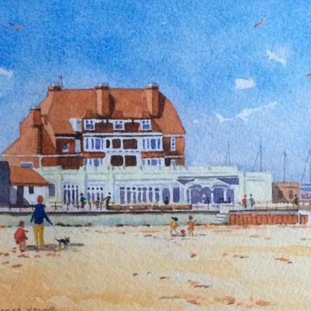 Pier Hotel, from Gorleston Beach
