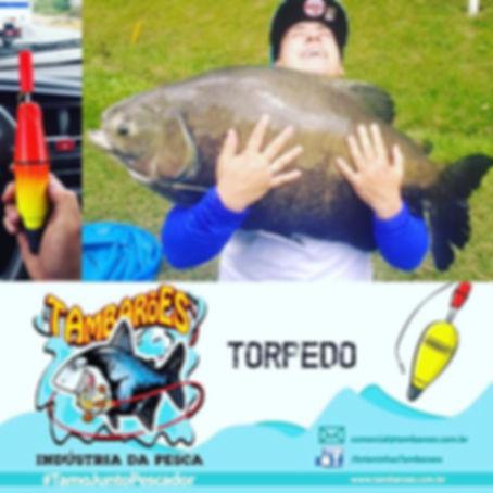 Boia Torpedo Foguetão Tambarões