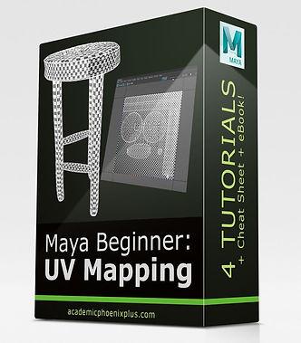 MayaBeginner_UVMapping_packagegraphic.JP